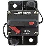 STETION 100 Amp Circuit Breaker Trolling with Manual Reset Car Marine Trolling Motors Boat ATV Manual Power Protect for…
