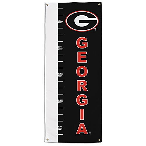 NCAA Georgia Bulldogs Growth Chart Banner, -
