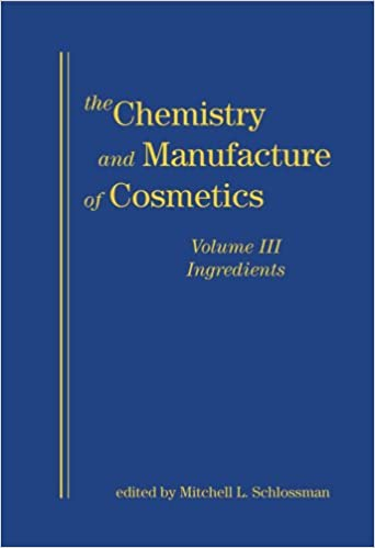 Chemistry And Manufacture Of Cosmetics Ingredients 2 Book