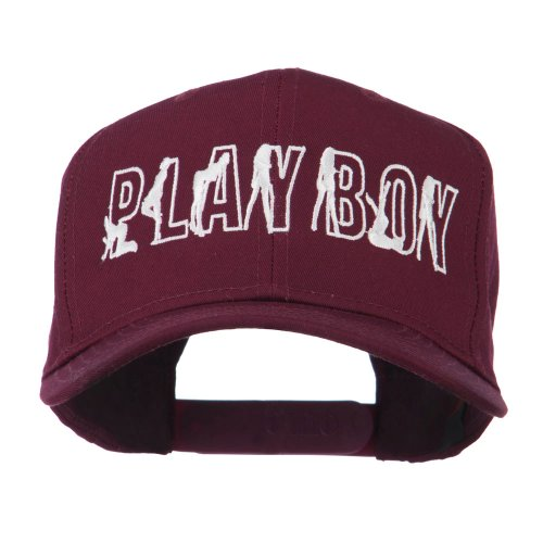 Playboy Embroidered Cap - Maroon OSFM