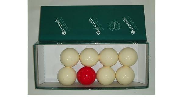 ARAMITH 1 7/8 BAR bolas de billar**: Amazon.es: Deportes y aire libre