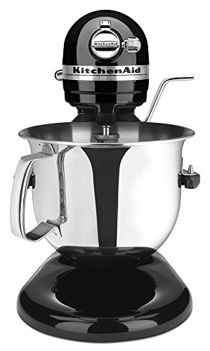 KitchenAid Renewed Bowl-Lift Stand Mixer RKSM6573OB, 6-Qt, Onyx Black