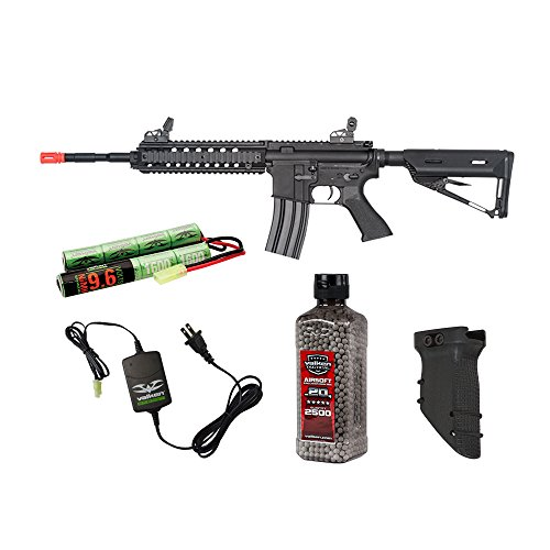 Valken Tactical Battle Machine Mod-L Covert Ops Airsoft Rifle Package by Valken Tactical