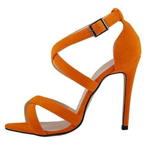 Oasap - bajo Mujer naranja