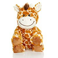 1i4 Group Warm Pals Microwavable Lavender Scented Plush Toy Stuffed Animal - Flirty Giraffe