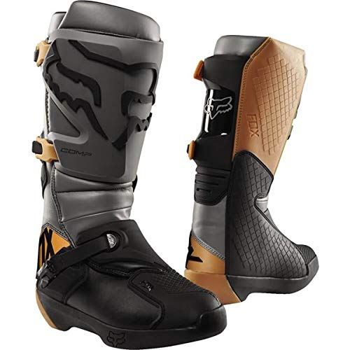 Fox Racing 2019 Comp Boots (10) (STONE) ()