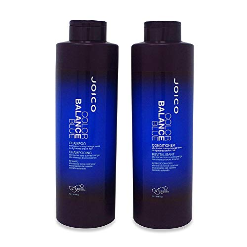 - Joico Color Balance Blue Shampoo & Conditioner 33.8 oz Liter Duo