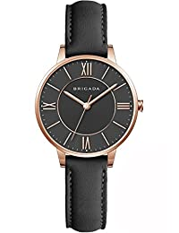 Swiss Brand Elegant Black Ladies' Dress Quartz Wrist Watch Leather Band Women Wrist Watch for Women Waterproof