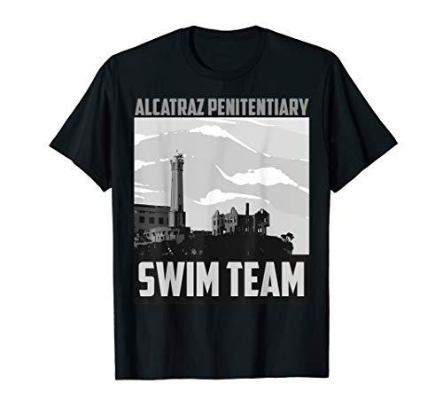 Cute Fancy Alcatraz Penitentiary Swim Team Shirt Gift