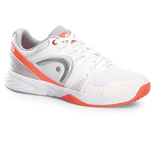 Neon Coral Women's White Tennis Team Shoes White Whnc HEAD Nitro F4w887