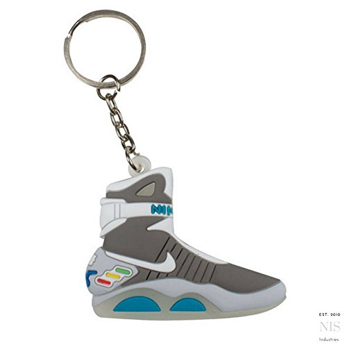 Nike Air Mag Back to the Future 2D Flat Sneaker Keychain by SPUSA - Back To The Future Shoes