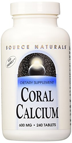 Source Naturals Coral Calcium 600mg, 240 Tablets For Sale