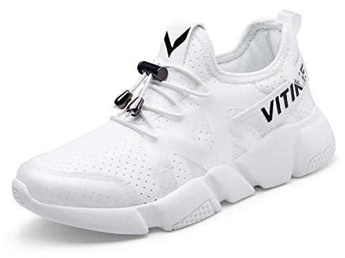 da Fitness Sneakers Sport Ginnastica Respirabile bianco Scarpe Elaphurus 1 Mesh Ragazza Outdoor Donna q0wBf