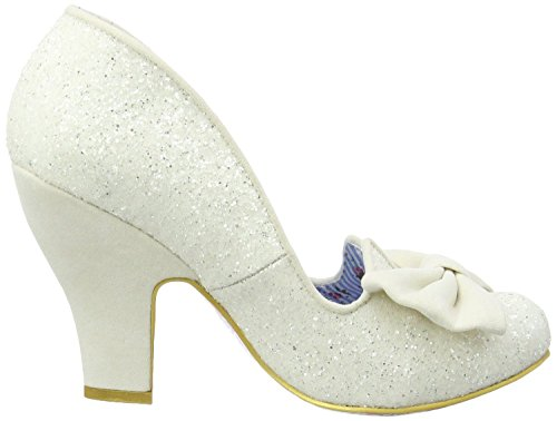 Irregular Choice Nick of Time Cream Donna Hi Heels Scarpe