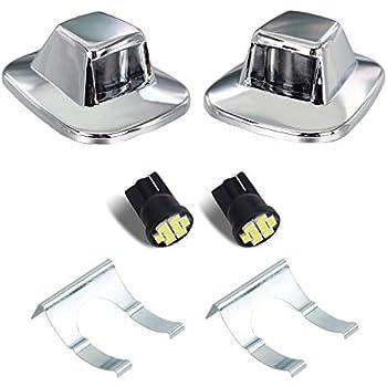 Amazon Com Hercoo Led License Plate Light Lamp Lens White