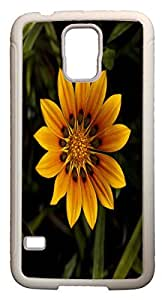 Galaxy S5 Case Cases Customized Gifts Cover yellow big Leaves - Ideal Gift