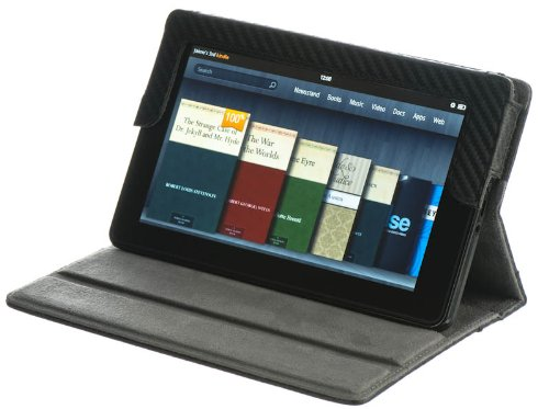 m-edge-hampton-jacket-foldable-folio-cover-case-and-stand-for-kindle-fire-tablet-carbon-fiber-black