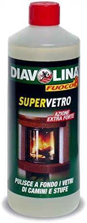 Diavolina carga de 1 lt Limpiador para lunas de estufas ...
