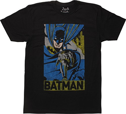 Batman+Retro+Shirts Products : Batman Retro City Name T-Shirt