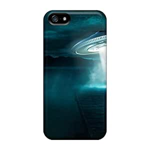 Ufo Situation Abduction Human Flip Case With Fashion Design For Case Ipod Touch 4 Cover