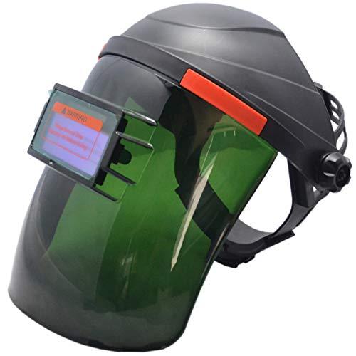 (Little Story  Flip Welding Cap, Black Solar Powered Auto-Darkening Welding Helmet Grinding TIG Welder Mask ROR)