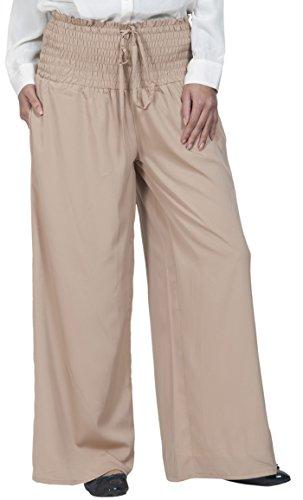 Pantalon Essence Beige Solid East Femme 5Cwv8q