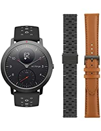 Withings/Nokia Steel HR Sport Smartwatch (40mm) - Activity Tracker, Heart Rate Monitor, Sleep Monitor, GPS, Water Resistant Smart Watch