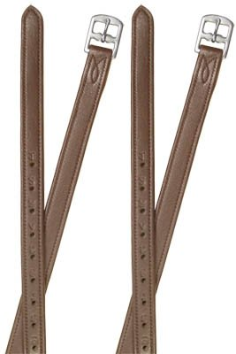 Paris Tack Super Soft Stirrup Leathers Chestnut Adult 54″