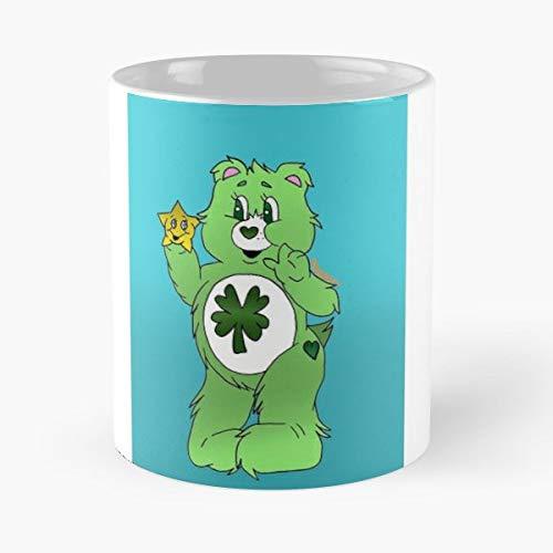 Carebears Lucky Bear Cute The Best Gift For Holidays Coffee Mugs