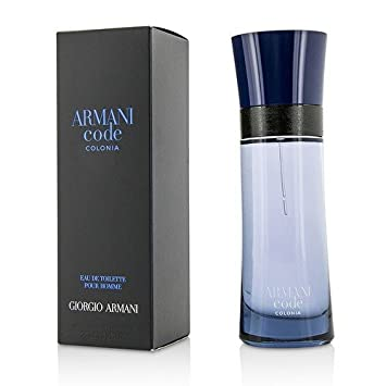 Armani Code Colonia Giorgio Armani EDT Spray Men 2.5 oz (Pack of 2)