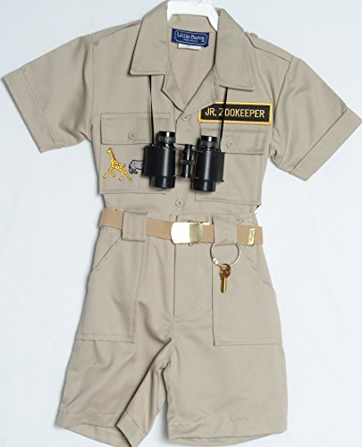 Toddler Zoo Keeper Costumes (Children's Zoo Keepers Uniform (4))
