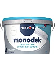 Histor Monodek - Muurverf - Mat - Dekt in 1 Laag - Afwasbaar