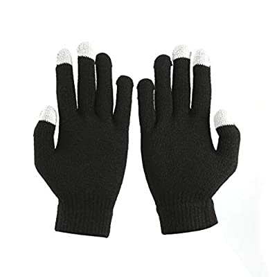 Tivolii Winter Man Woman Capacitive Hand Warmer Touch Screen Compatible Smartphone Gloves