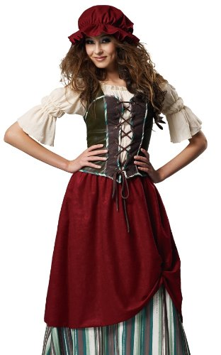 And Medieval Wench Costumes Renaissance Tavern Costume (Medieval Renaissance Tavern Wench Serving Girl Costume)