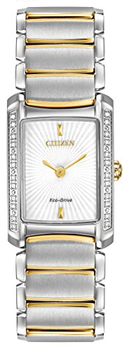 Citizen Eco-Drive Silhouette Diamond Stainless Steel Women's watch #EG2964-56A