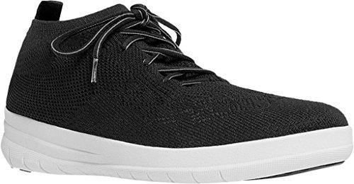 Woman White FitFlop Uberknit Black Black Sneaker fqadI8