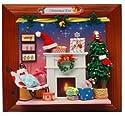 ドールハウス クリスマス イブ デコレーション フォトフレーム 型 壁掛け 置物 DIY キット BZ069