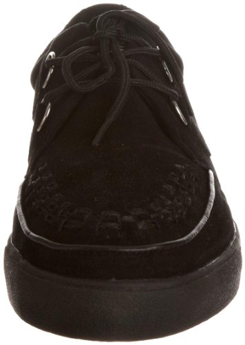 T.U.K Unisex A6061 Creeper Trainer Casual Lace Ups Black discount affordable nEOZVAq