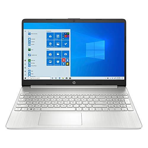 2020 Newest HP Pavilion 15.6 Inch FHD 1080P Laptop, Intel Core i5-1035G1 (Beats i7-7500U), 8GB DDR4 RAM, 256GB SSD, WiFi, Bluetooth, HDMI, Windows 10 + NexiGo Wireless Mouse Bundle