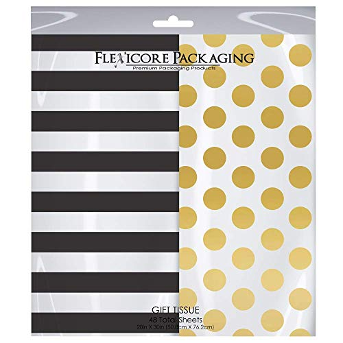 Flexicore Packaging® | Gift Wrap Tissue Paper | Size