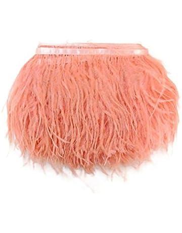 Kolight - Paquete de 1,8 metros de plumas de avestruz naturales tintadas, de