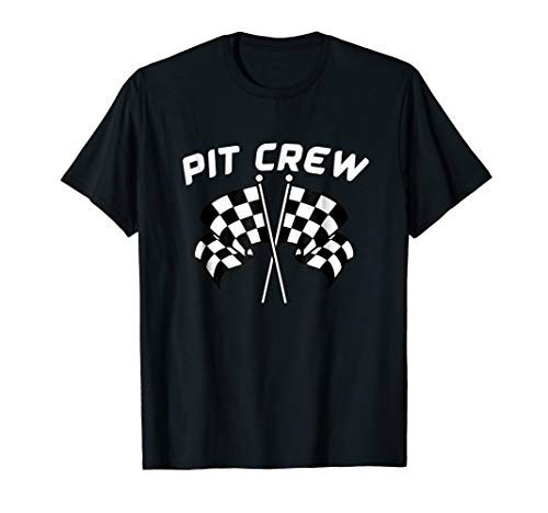 Pit Crew T-Shirt Great Party Theme Shirt