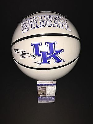 Jamal Murray Autographed Signed Kentucky Wildcats Logo Basketball JSA COA 3