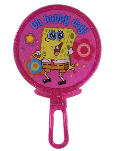 Nickelodeon Spongebob Squarepants - Spongebob Folding Mirror - Pink
