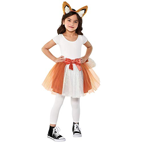 Amscan Fox Halloween Costume Accessory Kit for Girls, One Size, 2 -