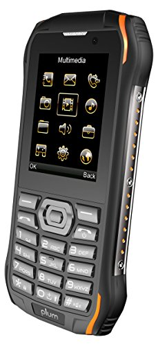 (Plum Ram 7-3G Rugged Unlocked Cell Phone GSM - IP68 Certified Military Grade Water Shock Proof Dual Sim Global Ready)