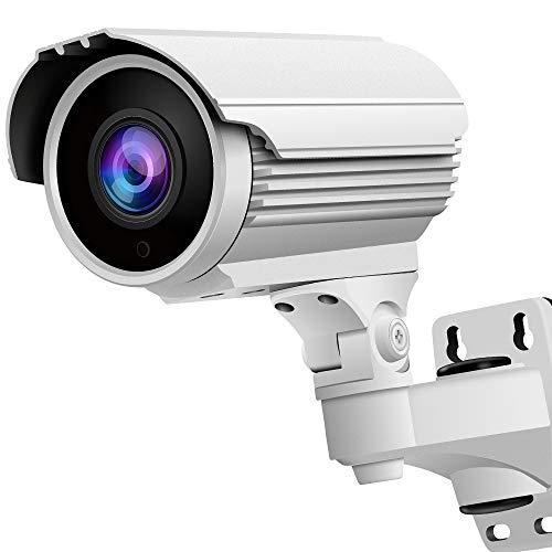 Cameras Surveillance Analog (1080P SONY Exmor Sensor (TVI/AHD/CVI/1200tvl) 2.8-12mm Manual Zoom HD Security Camera, Honic 2MP Varifocal IR CCTV Cameras, Outdoor Waterproof Day Night Vision Analog Camera for Video Surveillance)