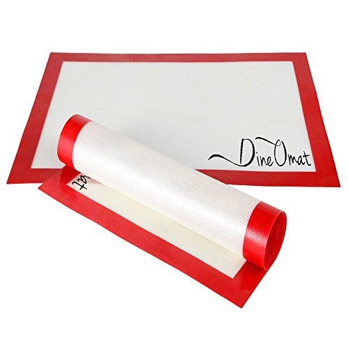 UPC 820103143561, CWAproducts DineOmat Silicone Baking Mat Set