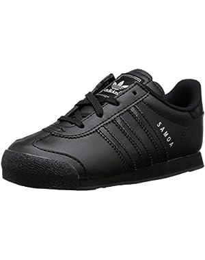Originals Samoa I Fashion Sneaker (Infant/Toddler), Black/Black/Black, 7.5 M US Toddler