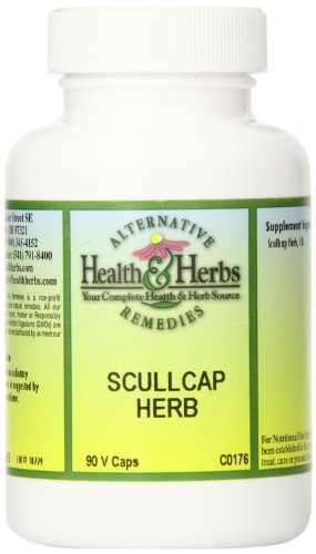 Экстракт коры белой ивы, 90 табл. (Alternative Health & Herbs Scullcap 90-count)